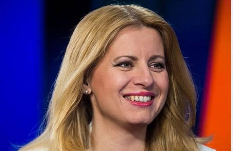 Slovakia elects Zuzana Caputova as its first female president