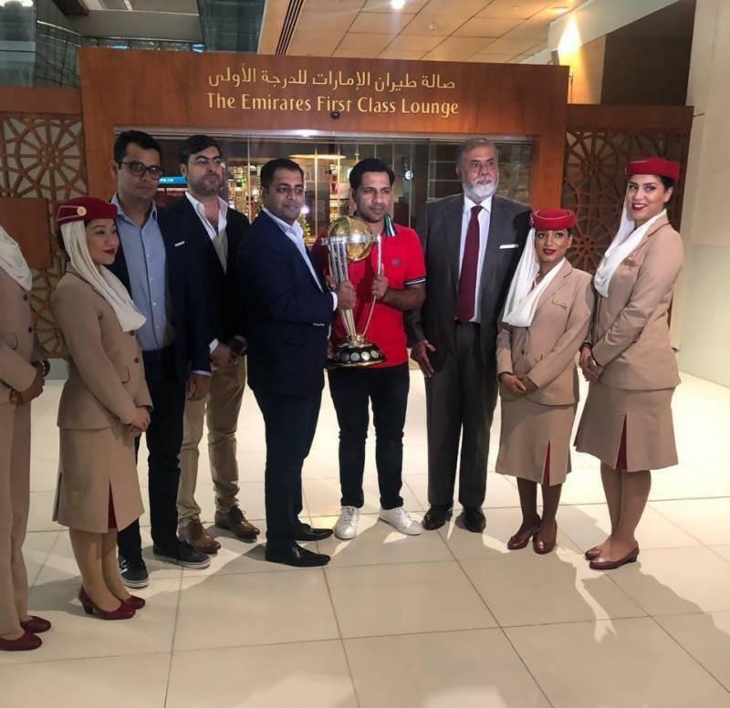ICC World Cup trophy reaches Pakistan again