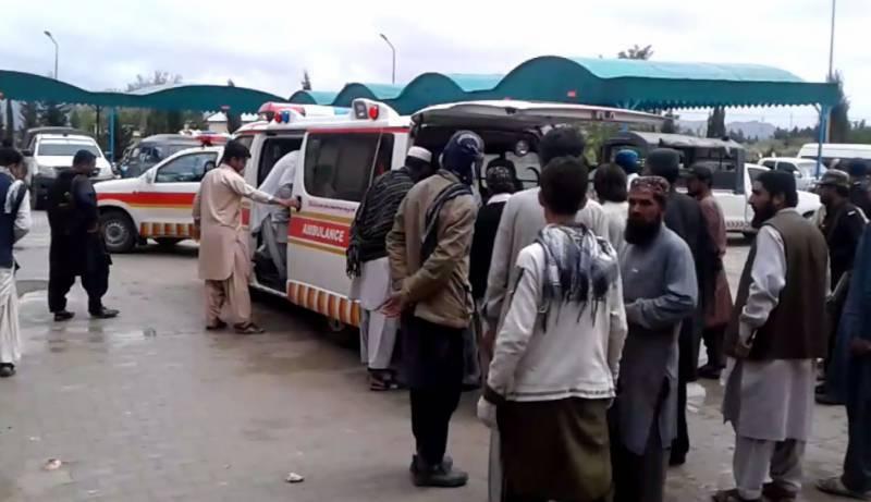 At least 11 killed in Mastung truck-van collision
