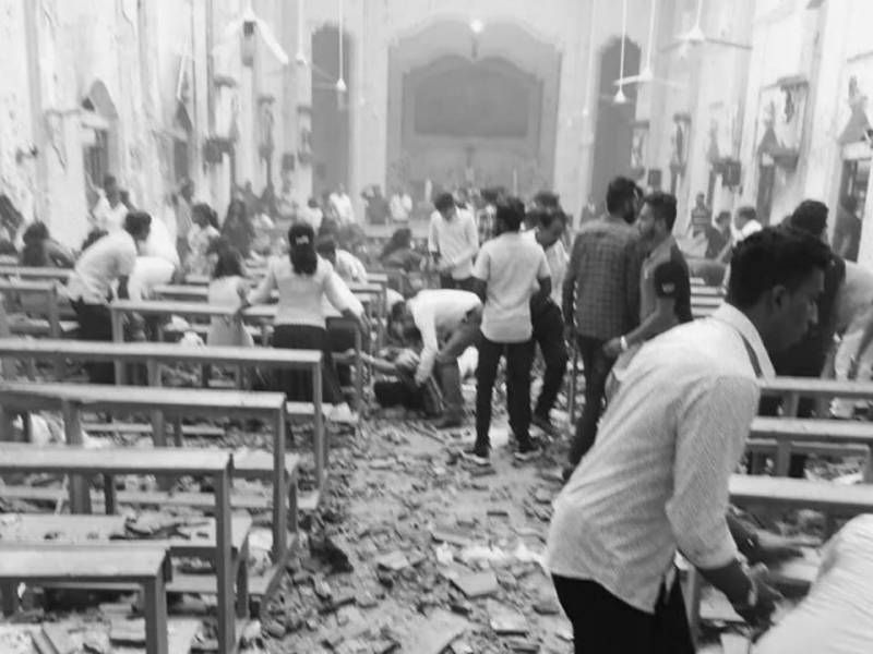 IS claims responsibility for Sri Lanka blasts