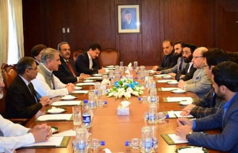 Pakistan making efforts for establishment of peace in Afghanistan: FM Qureshi