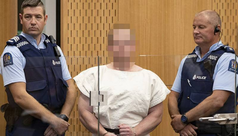 Christchurch mosque attacker formally charged with terrorism act