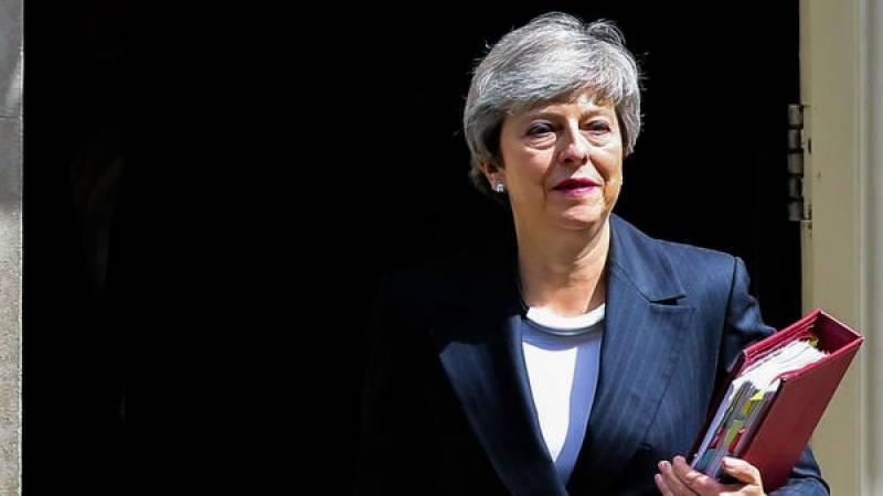 British PM Theresa May announces her resignation