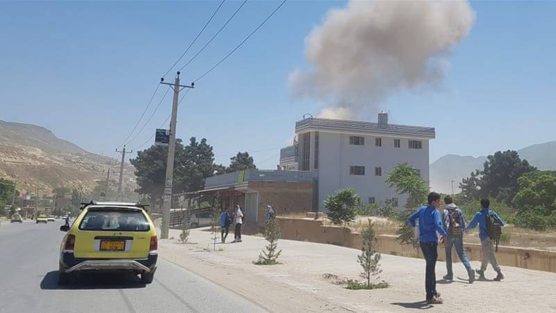 Kabul suicide blast kills four Afghans, injures four US troops