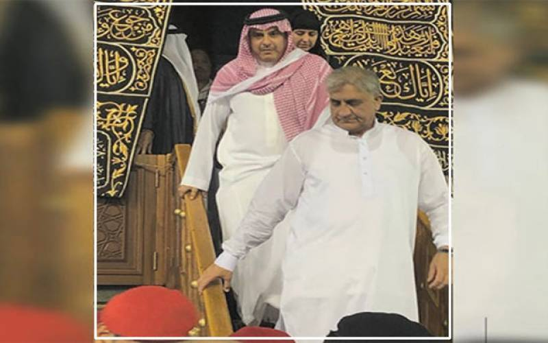 Army chief Bajwa performs Umrah