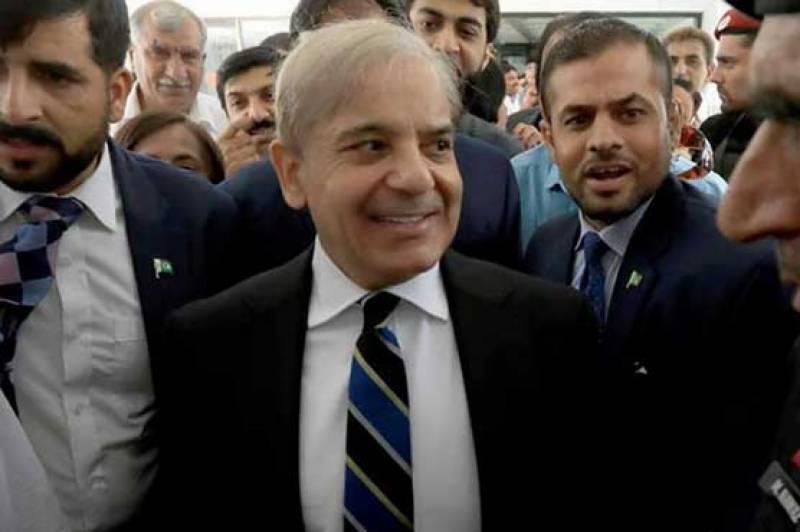 Shehbaz Sharif reaches Pakistan