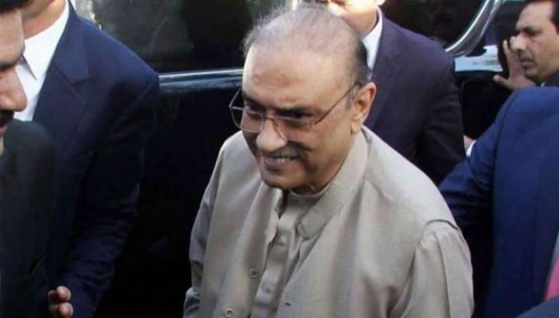 NAB arrests Asif Ali Zardari in Park Lane case