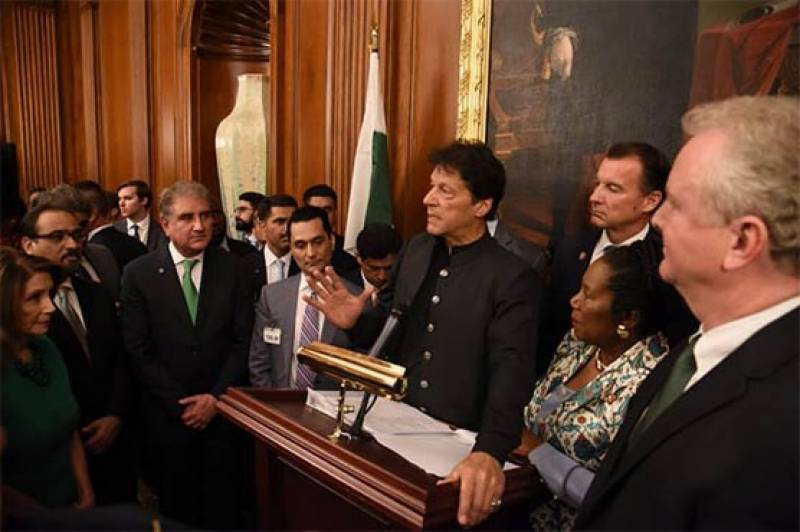 Intend to build Pak-US relations based on truth, trust and mutual respect: PM Imran