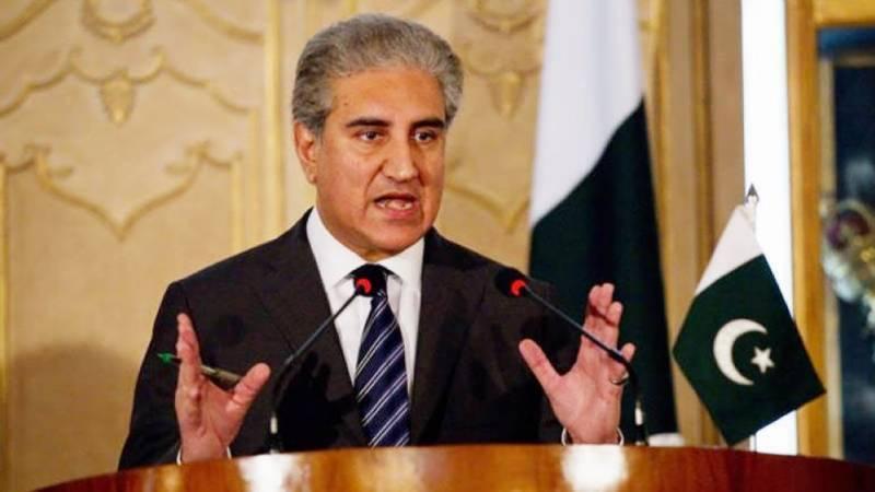 India jeopardising regional peace through war hysteria: FM Qureshi