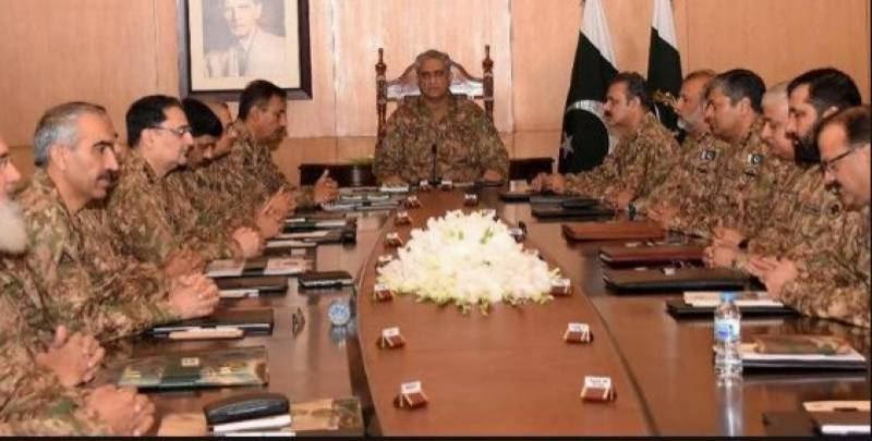 Corps Commanders Conference to be held on Tuesday
