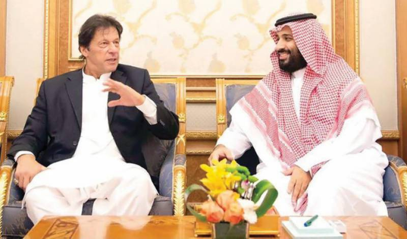 PM Imran, Saudi Crown Prince Mohammed bin Salman discuss IoK situation