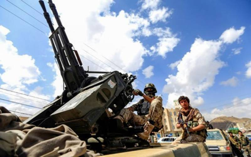 Saudi-led coalition intercepts Houthi militia's drone targeting Jazan