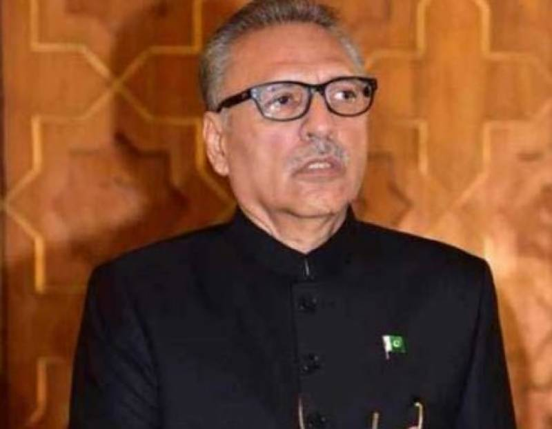 President Alvi to address joint parliamentary session on August 30