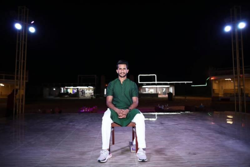 PICS: Cricketer Hasan Ali's pre-wedding shoot