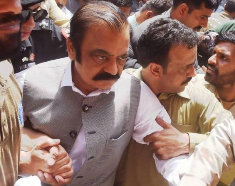 Court extends Rana Sanaullah's judicial remand till August 28