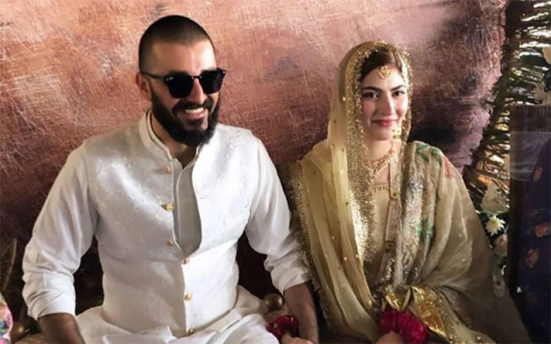 Hamza Ali Abbasi ties the knot with Naimal Khawar