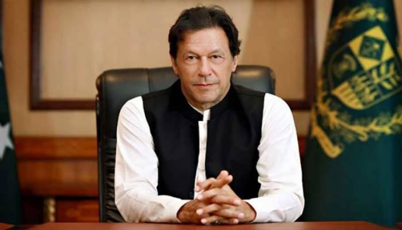 PM Imran addressing the nation on Kashmir issue