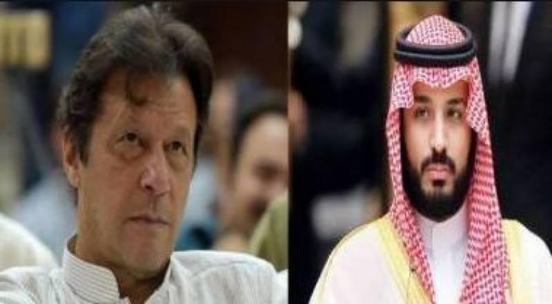 PM Imran calls Saudi crown prince, discusses Kashmir dispute