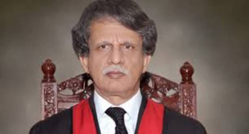 Top court judge Justice Sheikh Azmat Saeed retires
