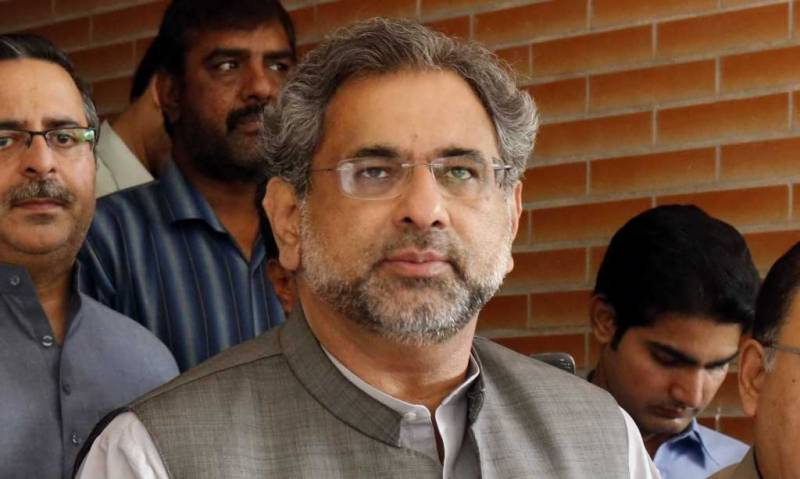 Former PM Abbasi's physical remand extended for another 14 days