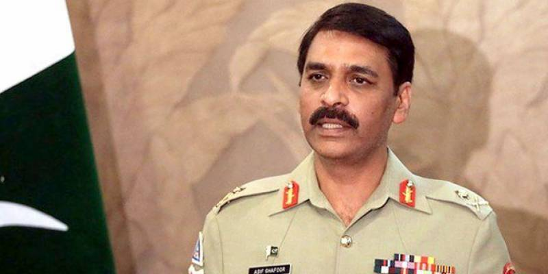 Forces standing by Kashmiris, will go to any length for their protection: DG ISPR