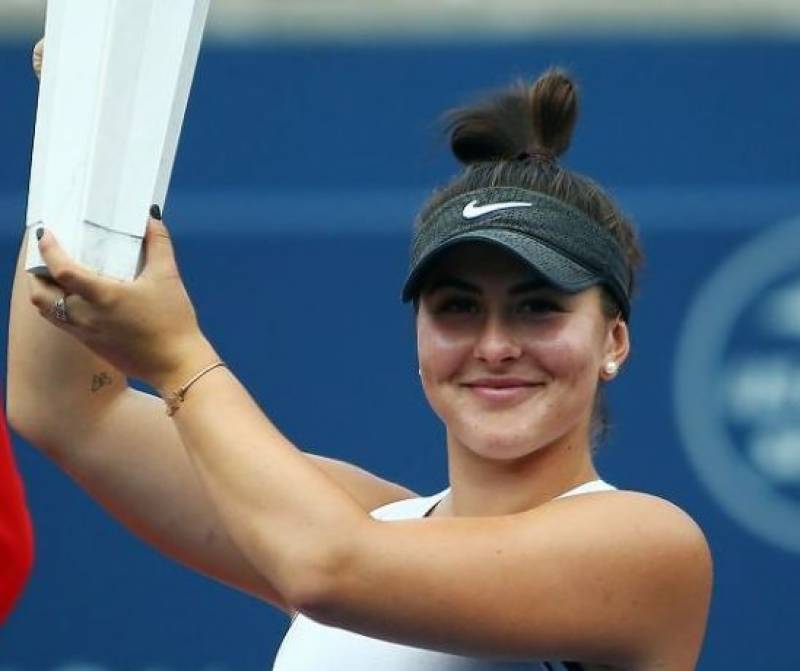 Andreescu topples record-chasing Serena in US Open final