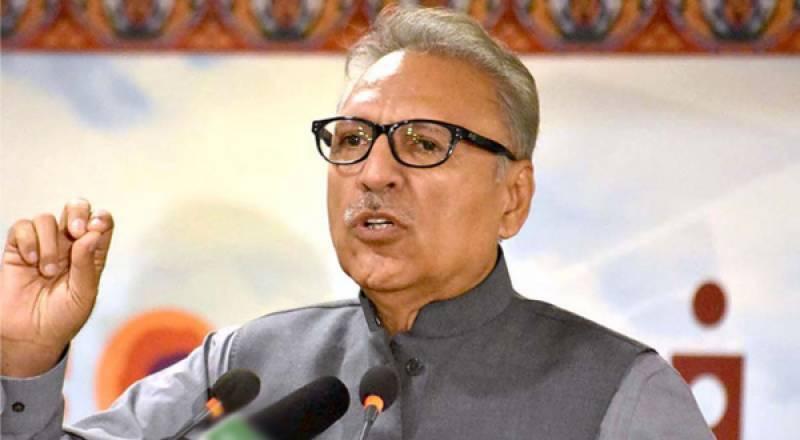 India's illegal actions in occupied Kashmir threaten peace in region: President Alvi