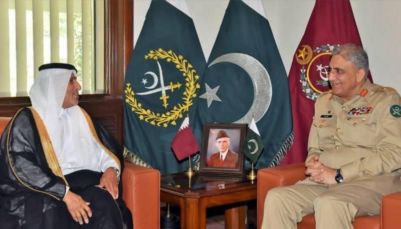 CEO of International Islamic Bank calls on COAS Bajwa
