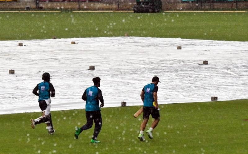 1st ODI: Match between Pakistan and Sri Lanka cancelled due to rain