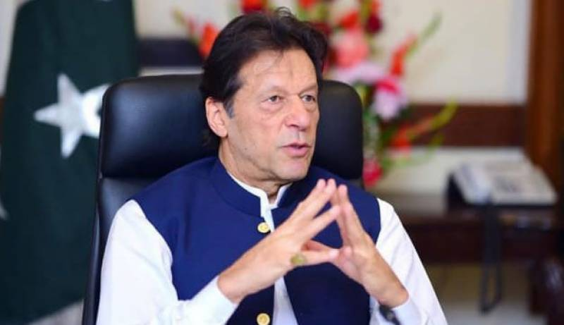 PM Imran visits Mirpur, briefed on earthquake losses and relief efforts