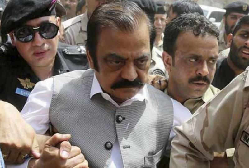 Drug smuggling case: Rana Sanaullah's judicial remand extended till October 18
