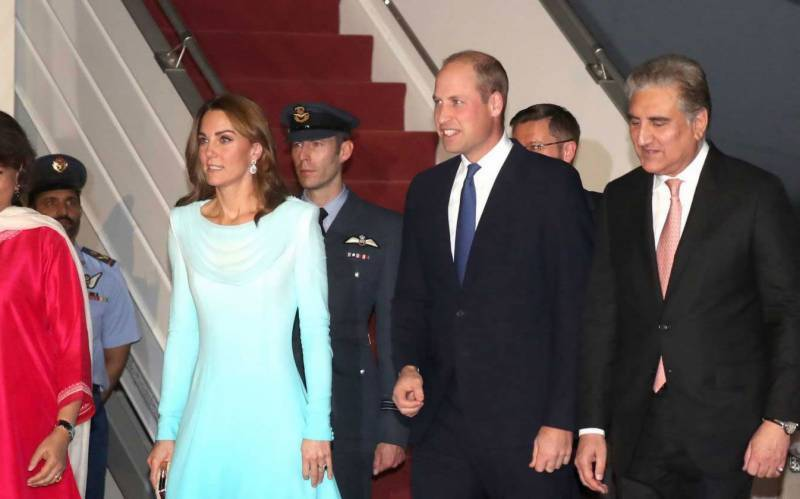 British Royal couple in Pakistan on five-day trip