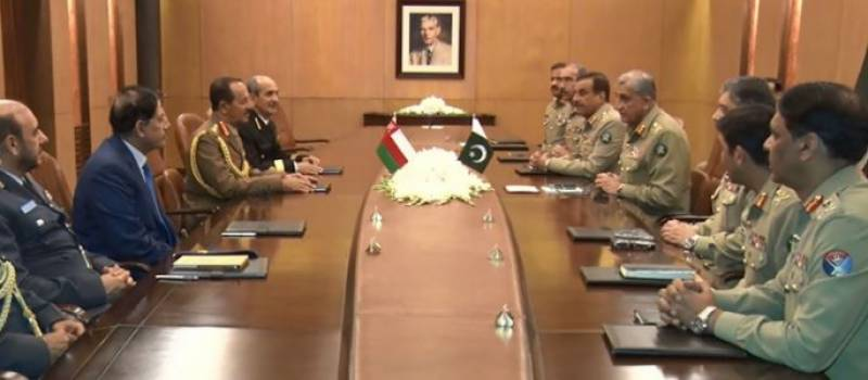 Omani Chief of Staff calls on COAS, lauds Pak Army's fight against terrorism