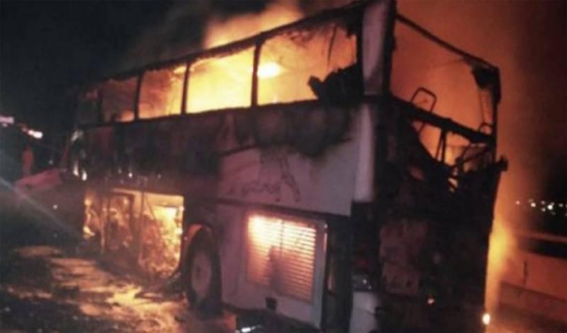 At least 35 pilgrims dead in Saudi bus crash