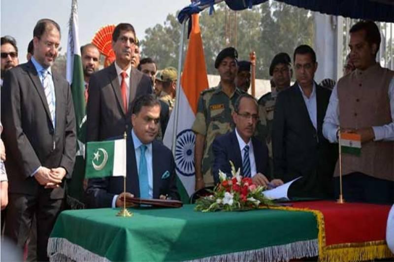 Pakistan, India sign Kartarpur Corridor agreement