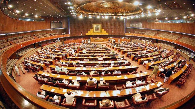 Opposition withdraws no-trust motion against NA deputy speaker, govt takes back 11 ordinances