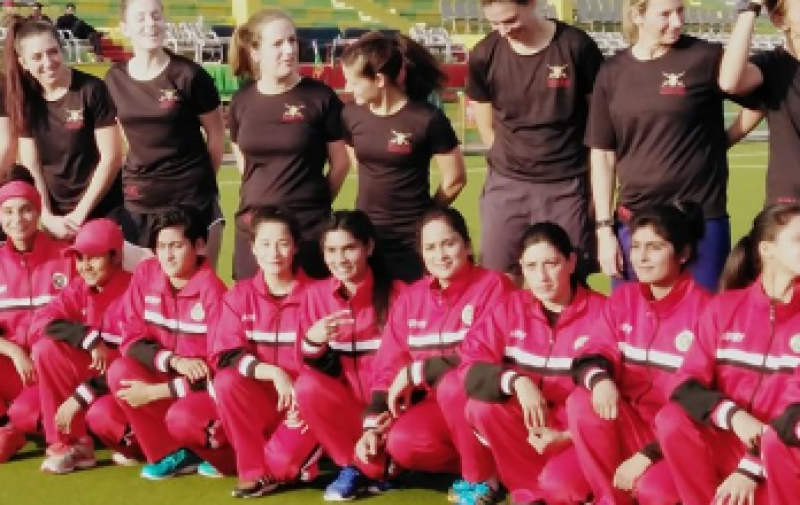 England Army Women team in Pakistan for 6-day tour