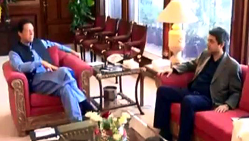 Former law minister Farogh Naseem calls on PM Imran