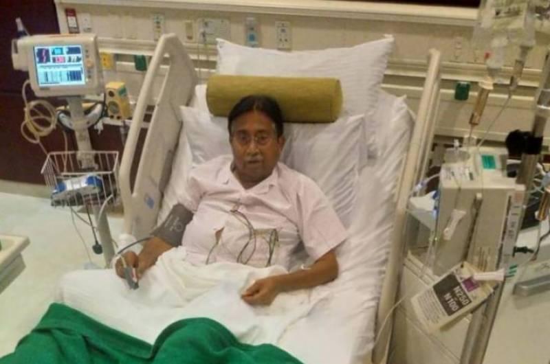 Musharraf unwell, admitted to hospital in Dubai