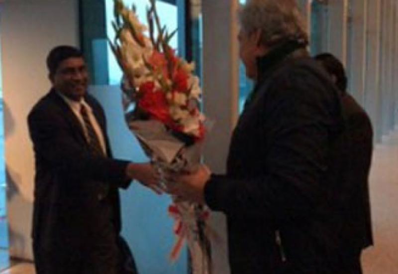 Sri Lankan cricket team reaches Pakistan
