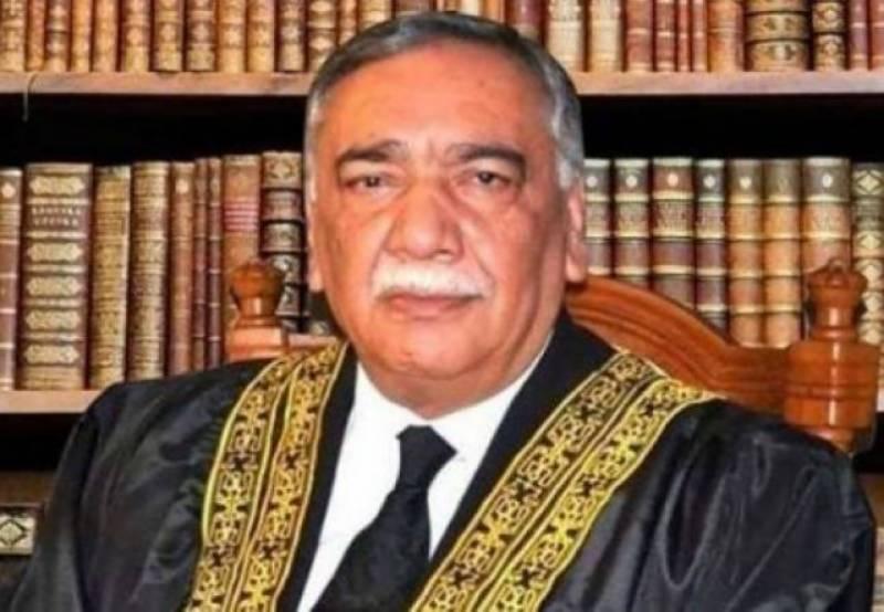 CJP Asif Saeed Khosa condemns Lahore cardiac hospital attack