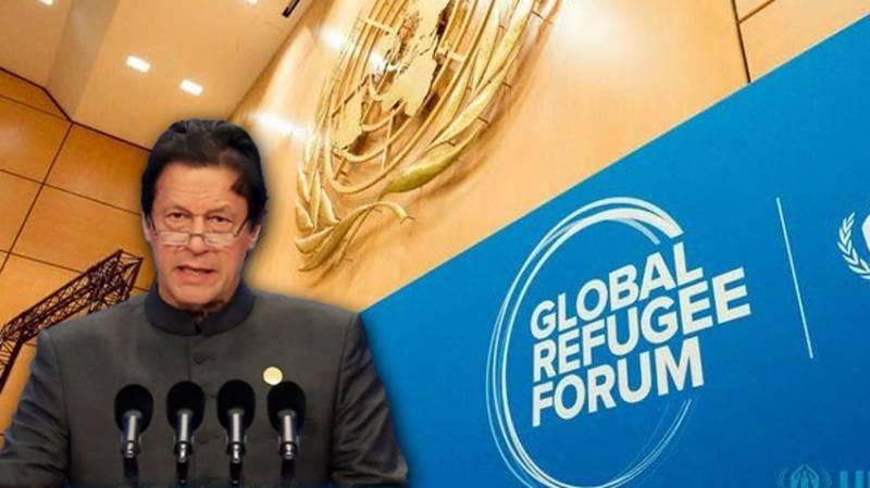 PM Imran co-convenes Global Refugee Forum at UN office in Geneva