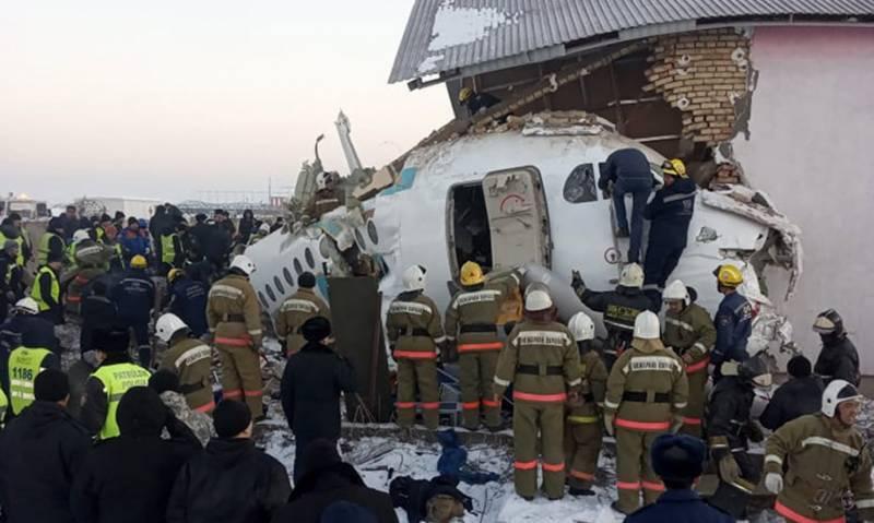 At least 14 dead in Kazakhstan plane crash