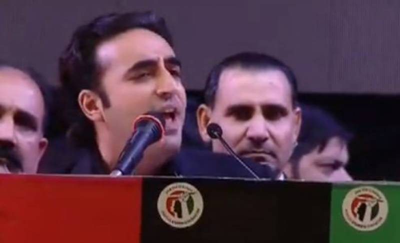Benazir's death anniversary: Bilawal says 'puppet regime of political orphans' is crumbling