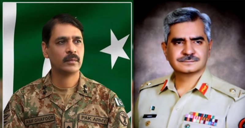 Major General Babar Iftikhar replaces Asif Ghafoor as DG ISPR