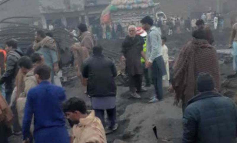 Faisalabad factory boiler explosion leaves four dead, 12 injured