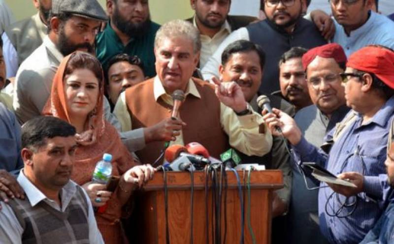 FM Qureshi says Pakistan hopeful for success of US, Taliban peace deal