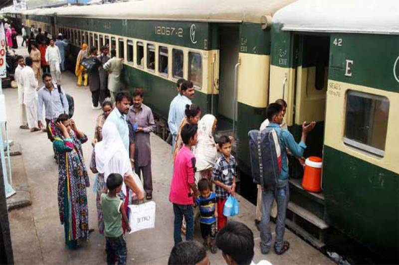 Train services to remain suspended till April 24: Sheikh Rashid