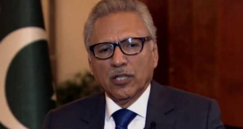 President Alvi reviews COVID-19 situation in Balochistan