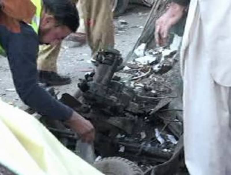 At least five injured in Peshawar explosion